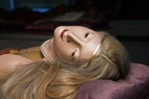 Anatomische Wachsmodelle aus dem Josephinum, geschaffen in Florenz, auf dem Rücken von Mauleseln über die Alpen nach...