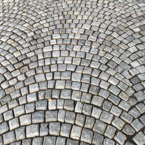 Pattern #street #vienna #cobblestones #city #igersvienna