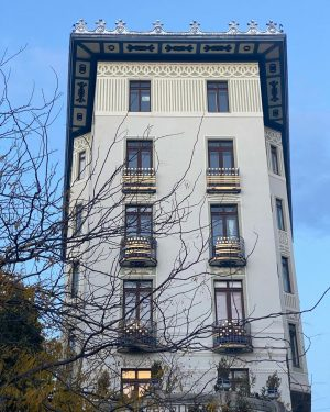💙💙💙#vienna #wien🇦🇹 #rüdigerhof #artnouveau #jugendstil 💙💙💙