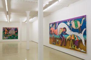 """Stefanie Gutheil's exhibition, """"ZWEI NULL ZWEI NULL"""" is now open at @krinzingerprojekte! On view until December 23,..."""