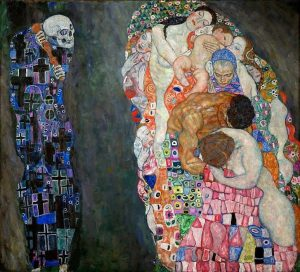 """""""Death and Life"""" By Gustav Klimt, 1908-1911. Leopold Museum"""