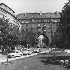 The Roaring Sixites im Gemeindebau: So sah es im Rabenhof in den 1960er Jahren aus. (copyright Wiener...