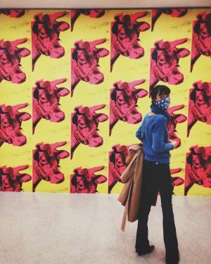 Andy Warhol... 😎❤️ . . . Passeio de fds é museu! mumok - ...