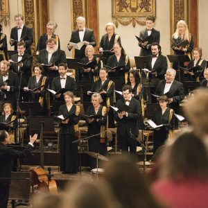 THIS IS US 🍂 the @wienersingverein, official concert choir of the Musikverein Wien since 1858. The stage...