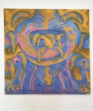 Suellen Rocca • At Sunset, 2013, Oil on canvas, 76 x 76 cm. ...