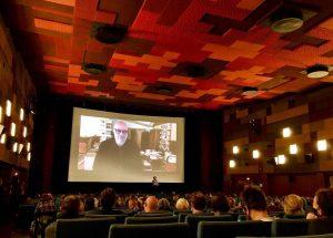 Publikumsgespräch. @viennale_official @gartenbaukino #questionsandanswers #challenge #notturno #gianfrancorosi #viennale #filmfestival #october2020 #vienna #igersvienna Gartenbaukino