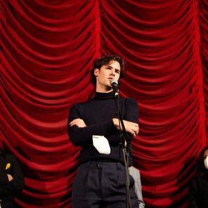 Leading man Qualitäten: #hochwaldfilm - Star #thomasprenn bei der Premiere auf der #viennale