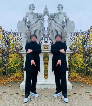 🖤 Belvedere Gardens, Vienna