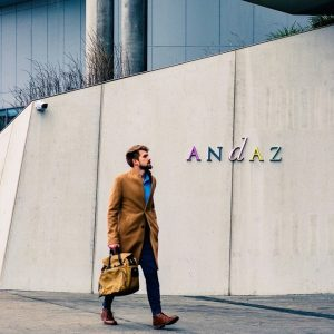 Our doors are open for business travelers - the Andaz Vienna team is here to welcome you...