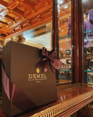 WE ARE OPEN 🎀 come visit us at our Demel shop from 10- 7pm! Treat yourself right...