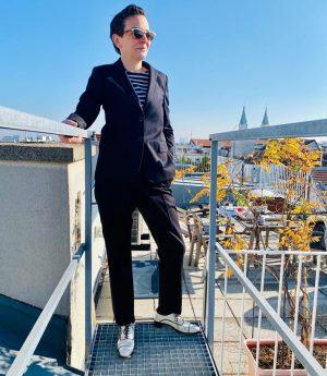 … über den Dächern von Wien.