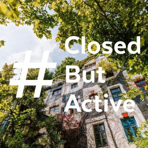 • WE ARE #ClosedButActive 💞 Das KUNST HAUS WIEN hat zwar aufgrund der letzten Covid-19-Verordnung bis voraussichtlich...