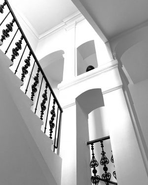 my friday stairs... #classic_unlimited #historicbuilding #stairsandsteps #stairwalkers #instastairs #sfe_ss #staircases_fireescapes #stairsandsteps_challenge #stairchallenge #lookingup_bnw #structures_greatshots #pinnacle_architecture #lightsandshadows #touch_bnw...