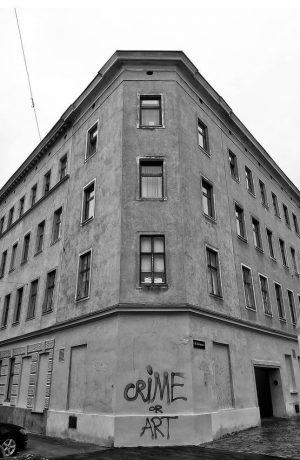 X - crime #orart . found in vienna 16 . . . #igersvienna ...