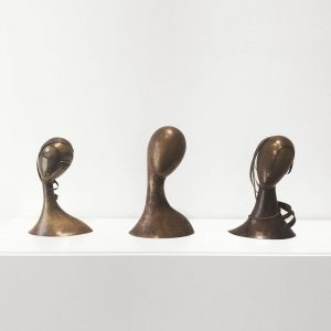 Franz Hagenauer — Stylized Woman's Heads ca. 1927-1930 Messing/Brass, silver-plated @Leopold_Museum ⠀⠀⠀⠀⠀⠀⠀⠀⠀⠀⠀⠀ ⠀⠀⠀⠀⠀⠀⠀⠀⠀⠀⠀⠀ ...
