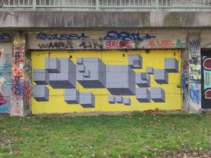 Donaukanal, 1030 Artist (center): @moizart_ www.viennamurals.at Books / Online Map / Blog #withlocation ...