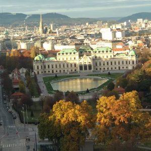 Bécsben is szép az ősz... Belvedere Gardens, Vienna