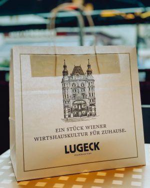 Ein Stück Wiener Wirtshauskultur für Zuhause. Bestellt von unserer Lugeck To Go Speisekarte einfach telefonisch unter 01/5125060...