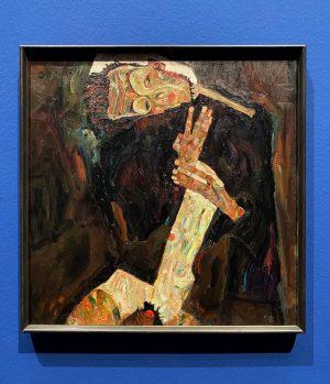 🇦🇹 Kennt ihr dieses Werk von Egon Schiele? Aktuell hängt es in der ...