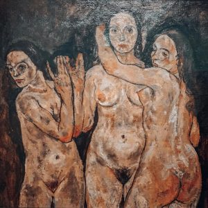 Triade. • • • #schiele #art #womeninart #beauty #expressionism #eroticart #nude #artist #erotic ...