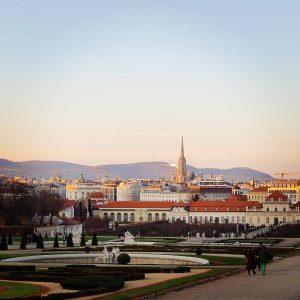 #vienna Belvedere Gardens, Vienna