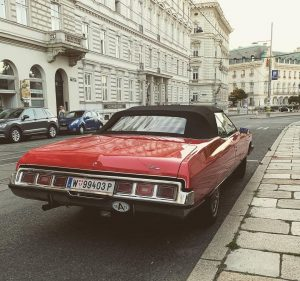 Vienna really has some amazing streets AND cars, like this awesome chevy. What's your dream city when...