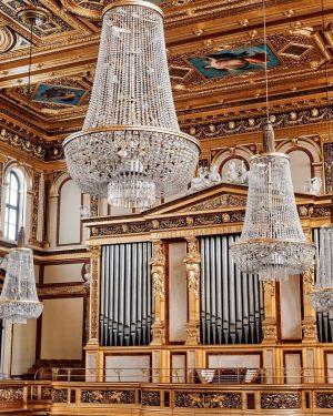 😍 Die Königin der Instrumente: Die Orgel im Goldenen Saal 🎶 📸 (c) Wolf-Dieter Grabner #musikverein #musikvereinwien...