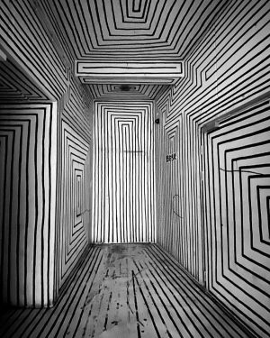 Enter The Void. @paul.busk ____ #grelleforelle #streetart #art #techno #nightclub #vienna #austria #party #feiern <>< Grelle Forelle