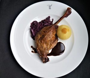 Enjoy the taste of winter with our Roast Goose to go! We offer a whole goose for...