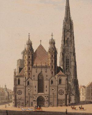 Stephansdom Eduard Gurk, 1830