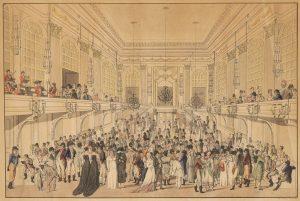 #welouveourarchive 💃 Ballveranstaltung im Großen Redoutensaal (Joseph Schütz, um 1815). In der Woche vor dem ersten Adventsonntag,...