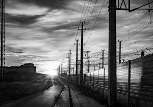 Bahnareal Neues Landgut in Wien-Favoriten . . . #bahnarealneueslandgut #bahnareal #sonnenuntergang #sunset #wolken ...