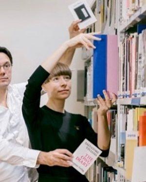 Head over to @mumok_vienna and check out ArtBookDay#1 #mumok #harpuneverlag #bibliothek #künstlerbuch #readingart ...
