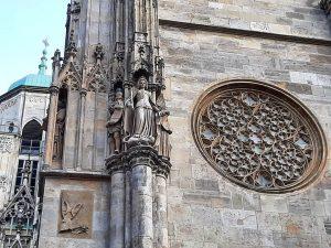 St. Stephen's Cathedral #stephansdom #cathedral #architecture #gothic #itsinthedetails #igersaustria #austria #besteurope #bestofaustria #thisisvienna #viennagram #viennamylove #igerswien #igersvienna...