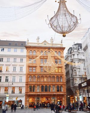 This iconic Viennese shopping street is mindblowing at Christmas time with spectacular decorations. Have you already been...