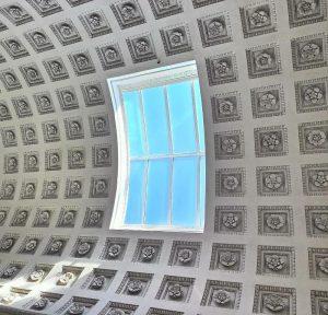 Look above Belvedere Museum