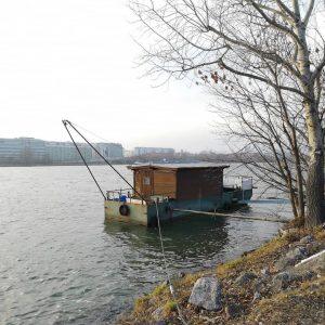 Where have all the Fischer gone?... #lockdown #winter #december #latergam #auslüften #fischen #donau #danube #wienliebe #vienna #melancholy...