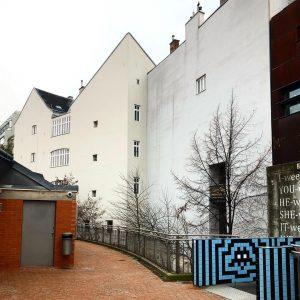_by #backyardstories. #grauingrau. #mqwien #winterdays. #zickzack. #corten and #bricks. MQ – MuseumsQuartier Wien