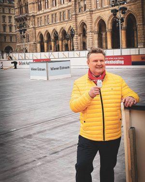 Wiener Eistraum Heute präsentierte ich die Neuerungen des 26. Wiener Eistraums am Rathausplatz. Als Wiener #Bürgermeister liegt...