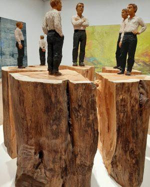 #balkenhol #artlover #albertinamodern #sammlungessl #wienliebe #artlover #sculpture Albertina Modern