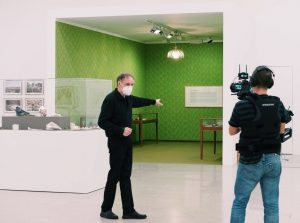 Curator Rainer Fuchs is hosting a free online guided tour in German in ...