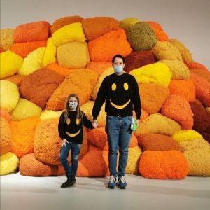 Smiley Family Sunday #sheilahicks #astriddeigner #letsgotothemuseum MAK - Museum of Applied Arts