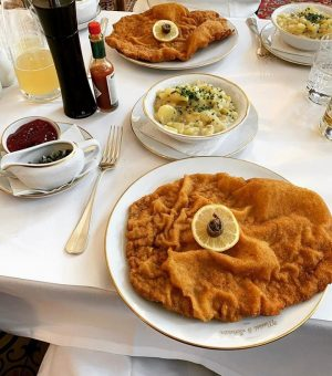 It wasn't all bad this year, the #Schnitzel were good while it lasted. ...