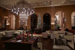 Festive flair in our lobby - Christmas time and New Year is our ...