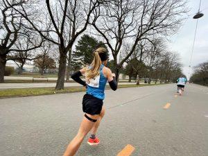 Platz 3 Staatsmeisterschaften Marathon 🇦🇹 Durchgangszeit Halbmarathon 1:18, Krämpfe ab km31 verhinderten eine ...