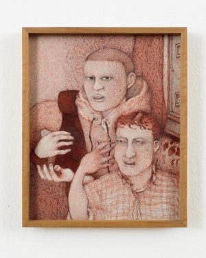 "In his exhibition ""To be kind"", Till Megerle presents thirteen new drawings from ..."