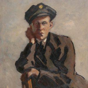 sitting, waiting, wishing 🔸 Max Hirschenauer (1885 - 1955) was an Austrian landscape, genre and portrait #painter....