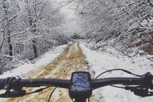 Rein ins Vergnügen. Genau meine Bedingungen zum Mountainbiken. Nach dem Radeln ging es ...