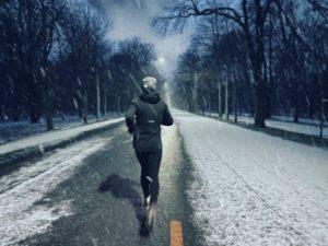 Snowly back to running after my marathon journey ❄️ Hauptallee