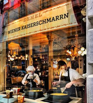 Vienna is most probably the only city in the world where you can get your Kaiserschmarrn to...